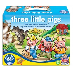 Los tres cerditos. Three little pigs.