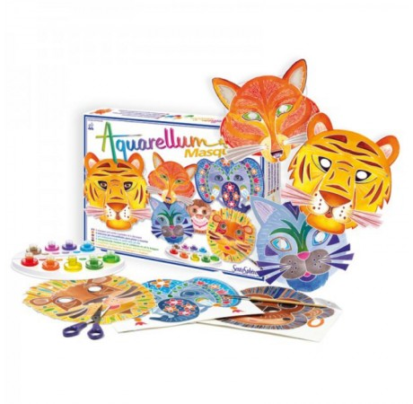 Aquarellum Máscaras Animales
