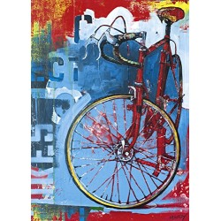 Puzzle Bike Art. Red Limited 1000pcs