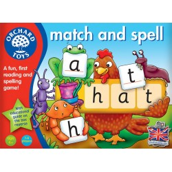 Emparejar y deletrear. Match and spell