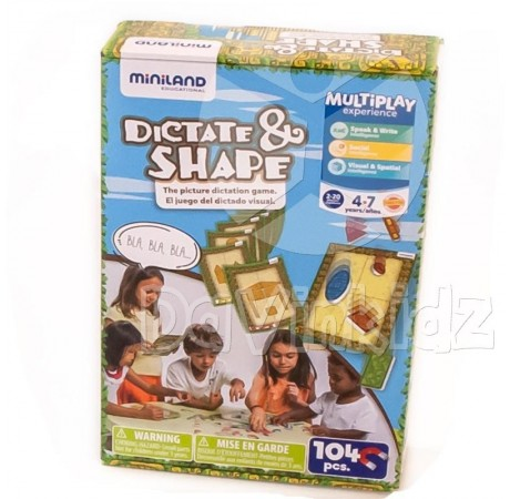 Dictate and Shape - Dictar y dar forma 104pcs