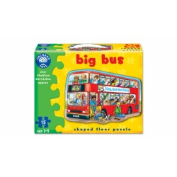 Puzzle suelo Autobús 15pc. Big bus.
