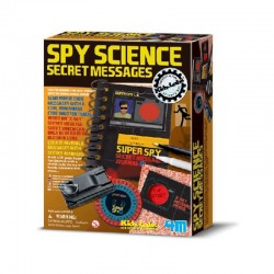 Spy Science Secret Messages