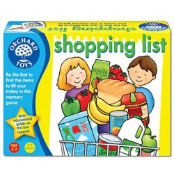 La lista de la compra. Shopping list.