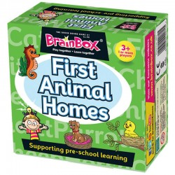 Brainbox First Animals Homes ENG