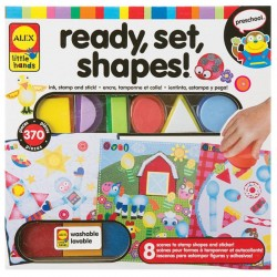 Ready, set, shapes!