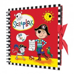 Libro de Scrap Pirata, Scrapbook