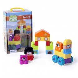 Super Blocks Mascotas 20 pcs