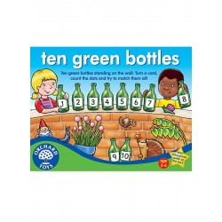 Diez botellas verdes. Ten green bottles